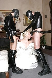 Missy Monroe Gets Blindfolded And Fucked By Two Masked Studs In Front Of His Cuckold Husband