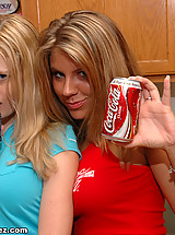 Coke vs Pepsi....Cass vs Krissy.....let the war begin!